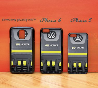 Volkswagen VW Golf R 400 Turbo Engine for iphone 6 case, iPhone 5 case, iPhone 7 case, iphone 4 case