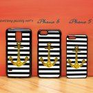 Anchor Gold Bling for iphone 6 case, iPhone 5 case, iPhone 7 case, iphone 4 case