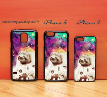 Dolla Dolla Bill Sloth Astronaut for iphone 6 case, iPhone 5 case, iPhone 7 case, iphone 4 case