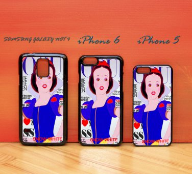 Disney Princess Snow White for iphone 6 case, iPhone 5 case, iPhone 7 case, iphone 4 case