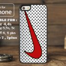 Nike Metal Retro White for iphone 6 case, iPhone 5 case, iPhone 7 case, iphone 4 case