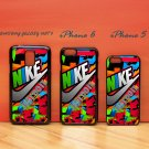 Nike Just Do It Colorful for iphone 6 case, iPhone 5 case, iPhone 7 case, iphone 4 case