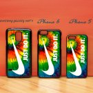 Nike Just Do It Rainbow for iphone 6 case, iPhone 5 case, iPhone 7 case, iphone 4 case