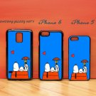 Snoopy for iphone 6 case, iPhone 5 case, iPhone 7 case, iphone 4 case