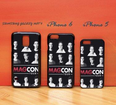 Magcon Boys Tour for iphone 6 case, iPhone 5 case, iPhone 7 case, iphone 4 case