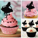 Cp36 cupcake toppers alice in wonderland Package : 10 pcs