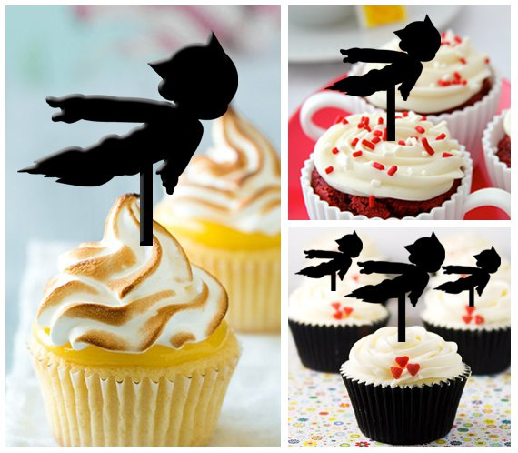 Cp74 cupcake toppers astroboy Package : 10 pcs