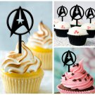 Cp100 cupcake toppers star trek Package : 10 pcs