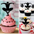 Cp175 cupcake toppers spiderman Package : 10 pcs