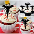 Cp273 cupcake toppers daredevil Package : 10 pcs
