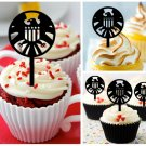 Cp334 cupcake toppers Avengers S.H.I.E.L.D Package : 10 pcs