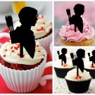 Cp356 cupcake toppers the hunger games Package : 10 pcs