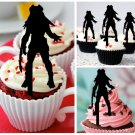Cp369 cupcake toppers predator Package : 10 pcs