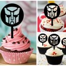 Cp394 cupcake toppers transformers Package : 10 pcs
