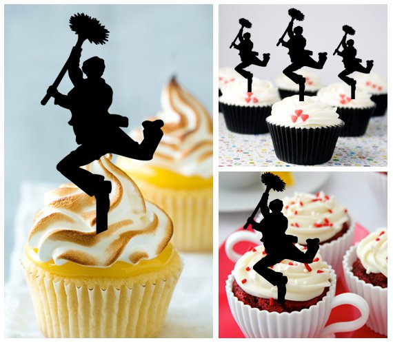 Cp426 cupcake toppers chimney sweep Package : 10 pcs