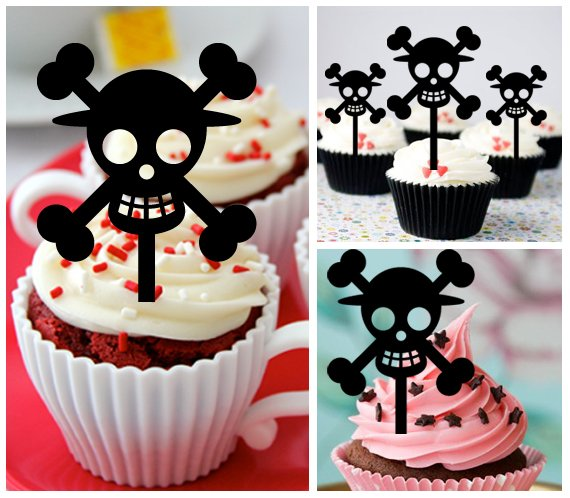 Cp475 cupcake toppers one piece Package : 10 pcs
