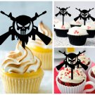 Gu1 cupcake toppers Punisher Gun Package : 10 pcs