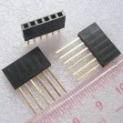 10pcs 6 Pin Female tall stackable Header Connector socket for Arduino Shield