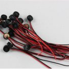 10pcs 4*1.5mm Electret Condenser Microphone MIC Capsule 2 Leads