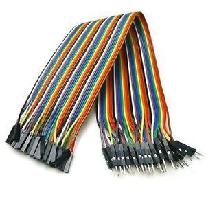 2pcs 40pcs�20cm 2.54mm male to female Dupont cables GOOD QUALITY