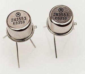 5pcs New 2N3553 Transistors TO-39 MOT