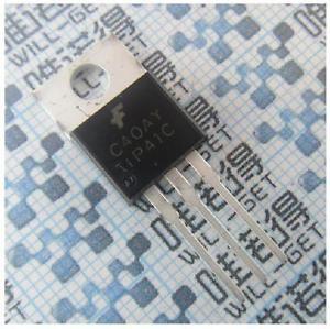 10pcs TIP41C TIP41 Power Transistor 6A 100V NPN NEW
