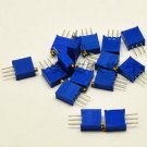 15 values 3296 trimmer trim pot resistor potentiometer kits 15pcs (one each )
