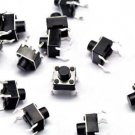 100pcs Micro switch push button 6 * 6 * 7 mm NEW
