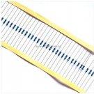500pcs 1/4w Watt 10K ohm 10Kohm Metal Film Resistor 0.25W 100000R 1%
