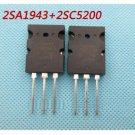 1pair OR 2PCS Transistor TO-3PL 2SA1943-O/2SC5200-O 2SA1943/2SC5200 A1943/C5200