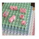 2pcs SMT SMD Kit Components Boxes Laboratory Storage Boxes