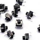 100pcs Micro switch push button 6 * 6 * 6 mm 6x6x6mm NEW