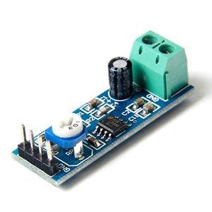 2PCS 200 Times gain 5V-12V LM386 Audio Amplifier Module Adjustable Resistance