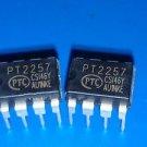 5pcs I2C 2 channels digital volume controller IC PT2257 NEW