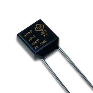 5 Pcs Aupo Thermal Fuse Cutoff TF 125� 250V 2A A3-F