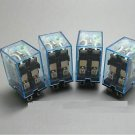 2 pcs OMROM LY2NJ DC 12V Smal Relays 10A 8PIN Coil DPDT