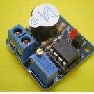 12V Accumulator Sound Light Alarm Buzzer Prevent Over Discharge Controller