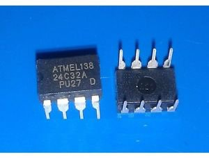 5PCS AT24C32A 2-Wire Serial EEPROM Memory DIP NEW