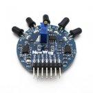 1Pcs 5 Way Flame Sensor Module Digital Analog Output for Arduino Raspberry pi