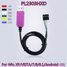 6Pin PL2303HXD USB to RS232 TTLCable module for win XP VISTA 7 8 Android