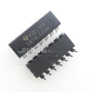 10PCS SN74LS93N 74LS93 TI IC 4-BIT BINARY COUNTER 14-DIP NEW