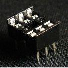 10 pcs IC Socket Adaptor PCB Solder Type DIP Socket 6p 6-pin 6 pin DIY New