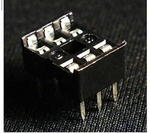 50 pcs IC Socket Adaptor PCB Solder Type DIP Socket 6p 6-pin 6 pin DIY New