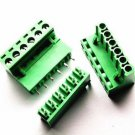 10Pcs NEW KF2EDGK KF-6P 6PIN Right Angle Plug-in Terminal Connector 5.08mm Pitch