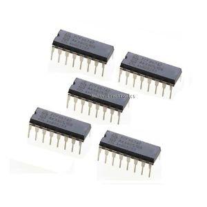 2PCS PCF8574P PCF8574 DIP-16 NXP/PHI Remote 8-bit I/O Expander IC