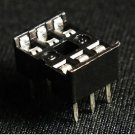 100 pcs IC Socket Adaptor PCB Solder Type DIP Socket 6p 6-pin 6 pin DIY New