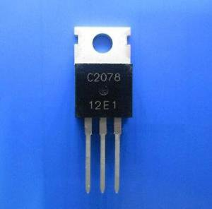 2pcs 2SC2078 -TO220 27Mhz RF Power Amplifier NEW Good Quality