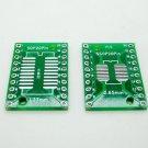 10pcs SOP20 SSOP20 TSSOP20 to DIP20 PCB SMD DIP/Adapter plate Pitch 0.65/1.27mm