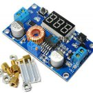 2PCS 5A Adjustable Power DC-DC Step-down Charge Module LED Driver + Voltmeter