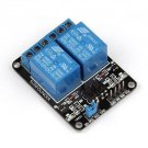 2pcs 5V 2--Channel Relay Module for Arduino PIC ARM DSP AVR Electronic